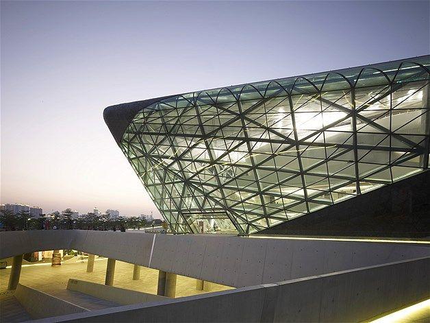El Opera House en Guangzhou, China.