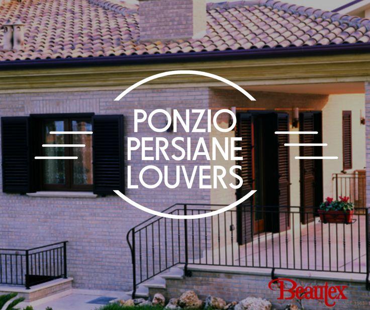 #PonzioPersianeLouvers #ponzioaluminium #windowsanddoors #windows #doors #louvers #persiane #beauty #architecture #design #exteriors #Italy #Italiandesigns #beautexluxuryconcepts #des
