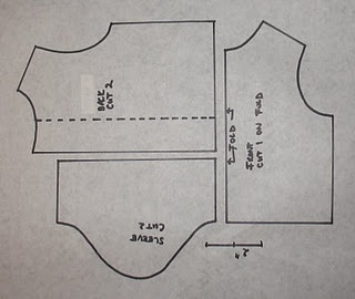 doll shirt - Note: pattern too small when printed as is