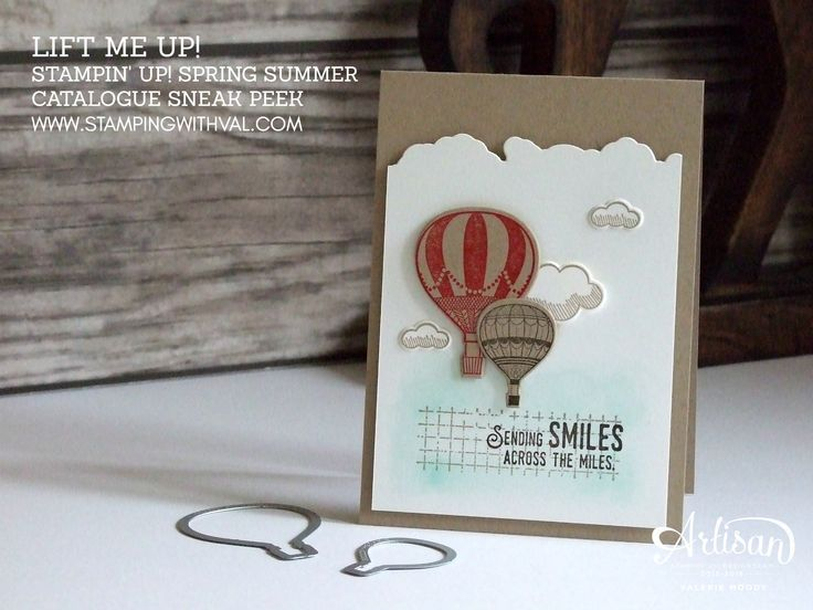 Stampin' Up! UK - Sneak Peek - Lift Me Up - Spring/Summer Catalogue - Shop Stampin' Up! Online HERE 24/7