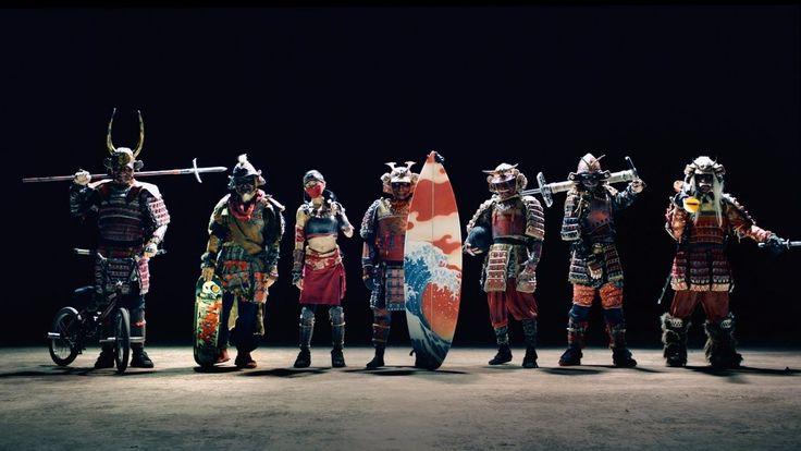 カップヌードルCM 「7 SAMURAI 篇」 120秒