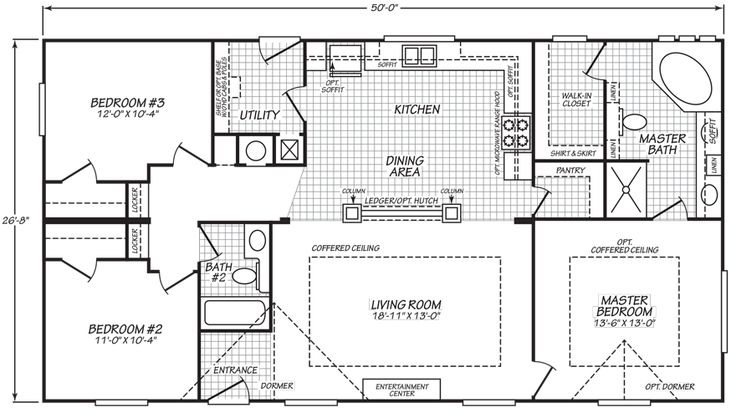 24 best landhomes for sale images on pinterest floor plans modesto double wide hud manufactured home malvernweather Choice Image