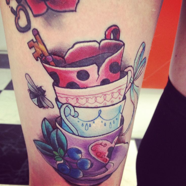 stacked teacups | tattoo inspiration {ink} | Pinterest ...