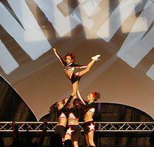List of cheerleading stunts - Wikipedia, the free encyclopedia
