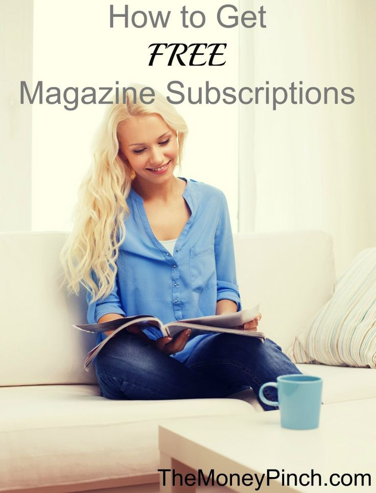 1000+ Ideas About Free Magazine Subscriptions On Pinterest
