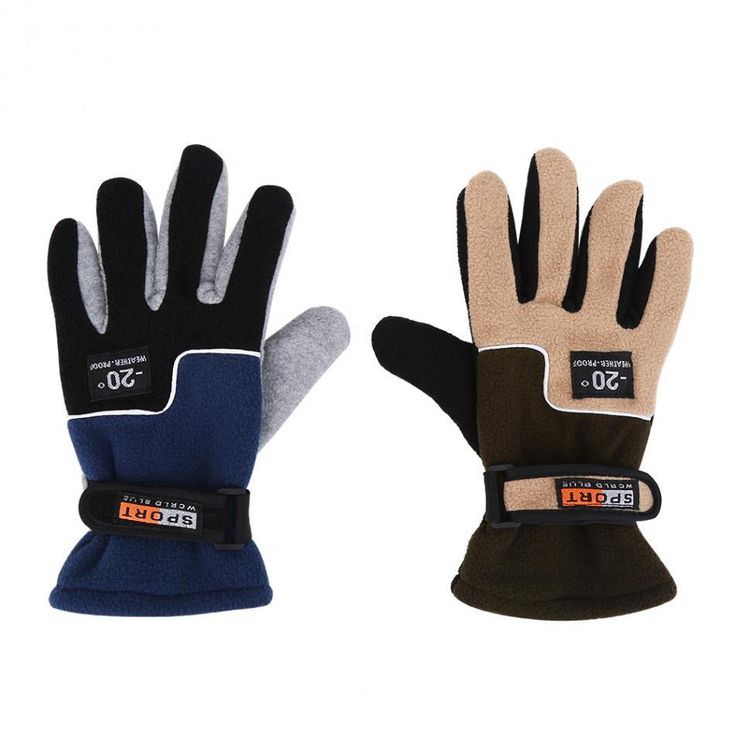 Warm Fleece Full Finger Insulated Gloves for Fishing Hunting and Outdoor Sporting & Camping