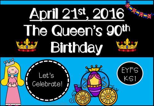 The Queen's 90th Birthday Activity Pack (EYFS/KS1) #eyfs
