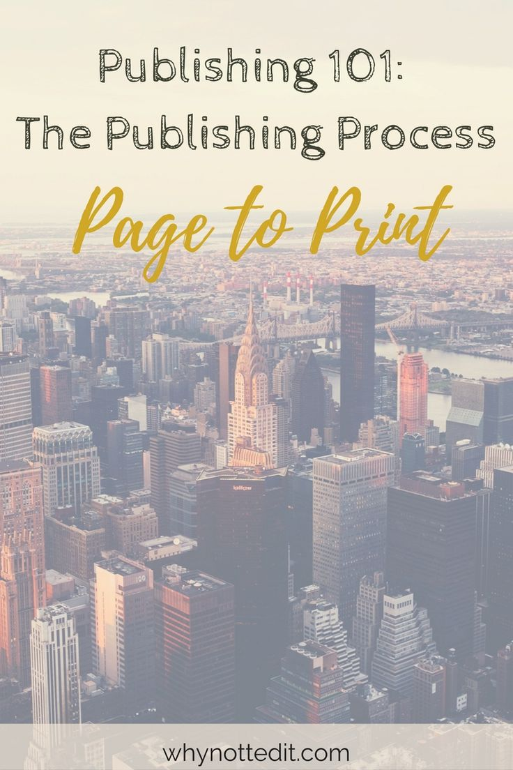 Many first time authors do themselves a huge disservice by not knowing anything about the publishing process going into it. Click through to learn what happens to your book and when.