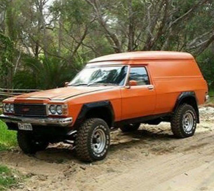 1977 HX Holden Kingswood panelvan Overlander