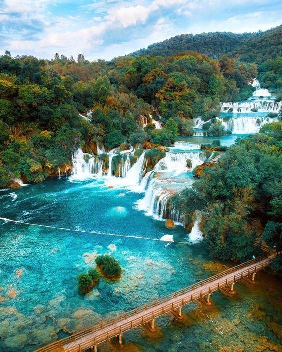 Magical Places In Croatia: #Krka National #park, #Croatia, #Europe #travel #adventure