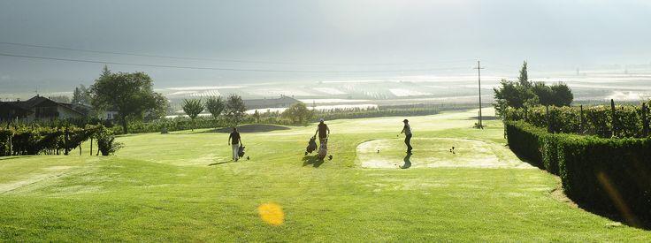 #Golf spielen in Südtirol