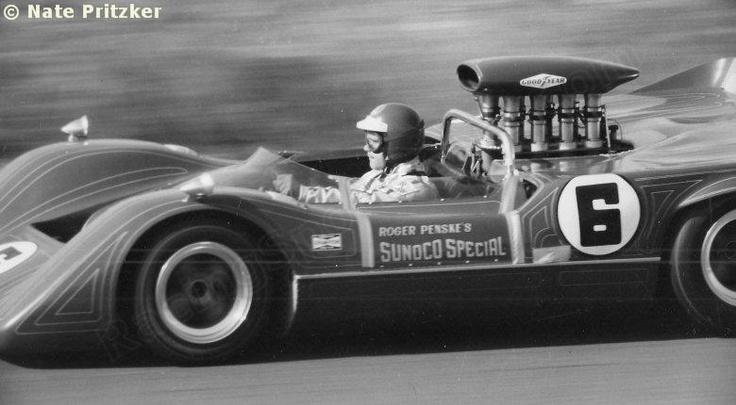 Roger Penske's Sunoco Special McLaren M6B CanAm