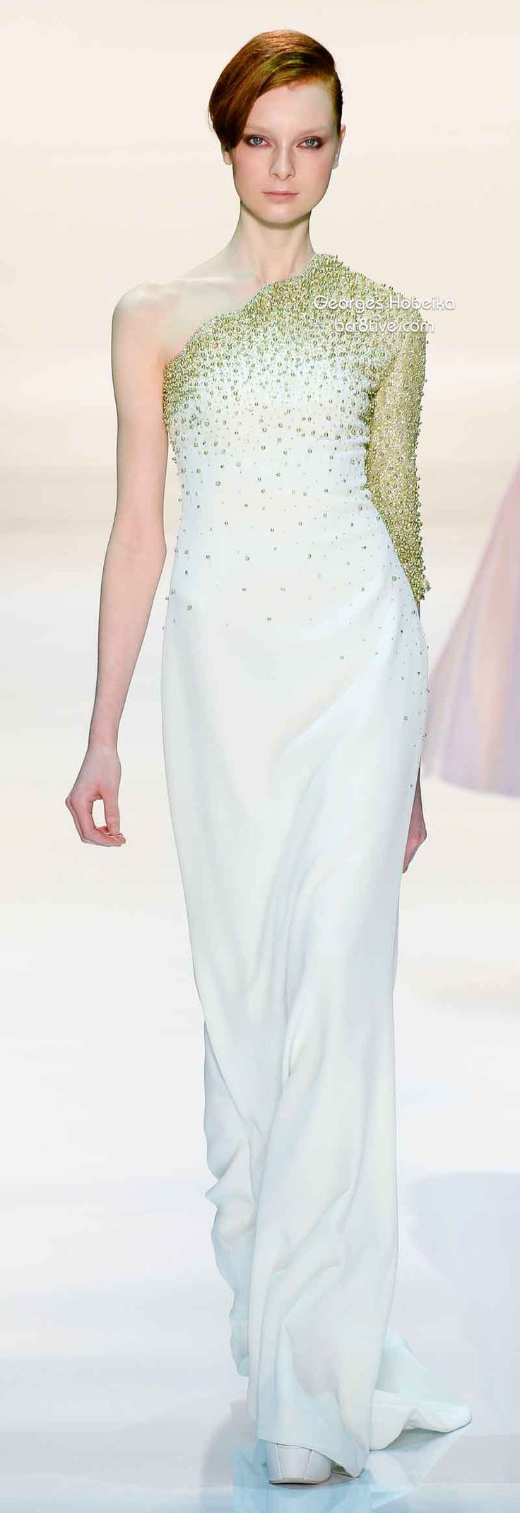 Georges Hobeika Spring 2014 Couture lbv
