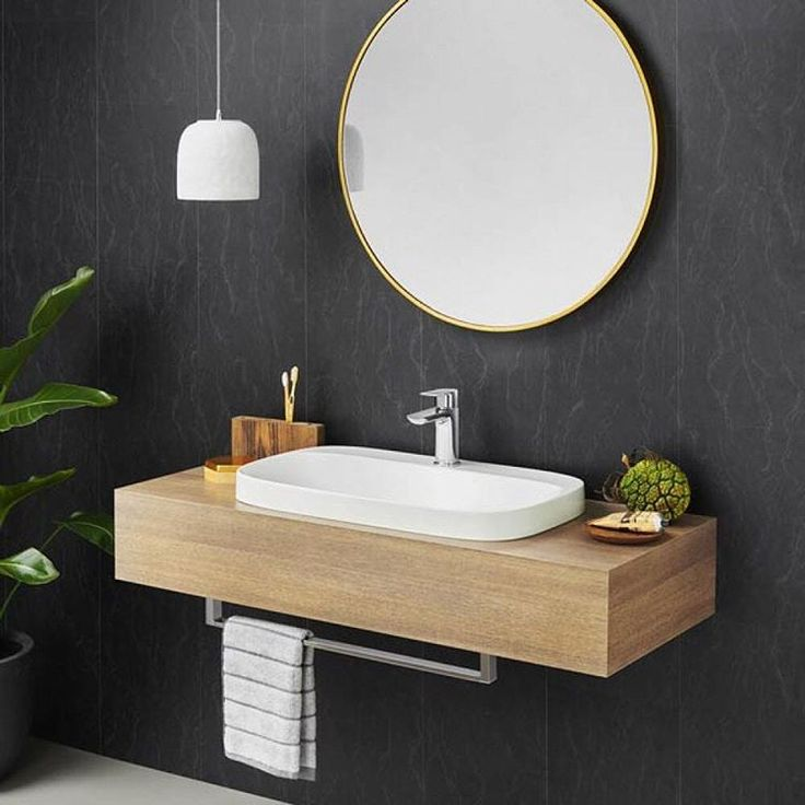 Happy Monday! Looking to redesign your basin? We're loving the @caromaaustralia Moon 700 Inset…""
