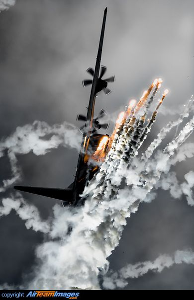 "[Lockheed C-130J-30 Hercules]...  ""Fyyy-er powww-er"" ..."
