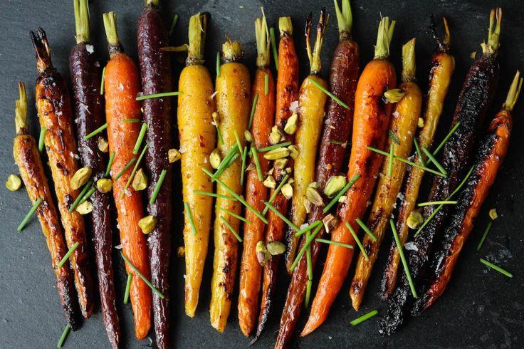 PaleOMG Maple Dijon Roasted Carrots |