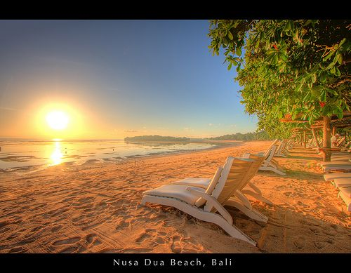 ☼ Seasons ☼ Summer ☼  Sunrise at Nusa Dua Beach, Bali | by Thainlin Tay