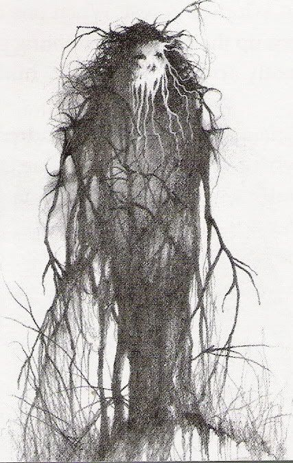 Art by Stephen Gammell.  From Scary Stories to tell in the Dark. #art