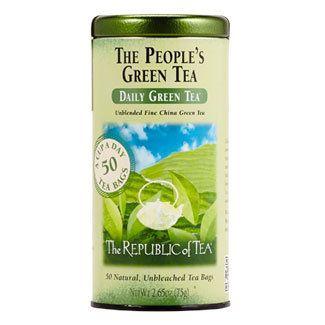 The People's Green Tea Bags | The Republic of Tea
