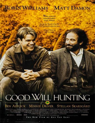 Poster de El indomable Will Hunting