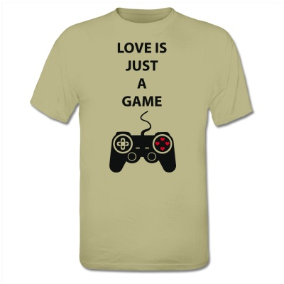 Now available @Shirtcity Love Just A Game T-Shirt