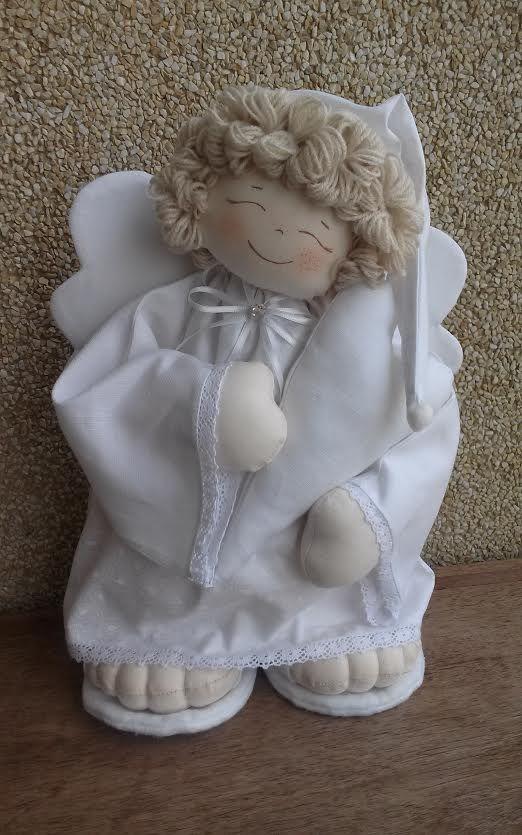 Anjo da Paz...by D'Pano   http://www.elo7.com.br/104BC5