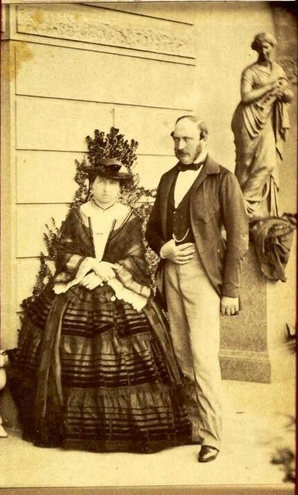Queen Victoria and Prince Albert.                                                                                                                                                                                 More