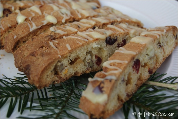 Christmas Biscotti Recipe = ~ Dutchess Roz