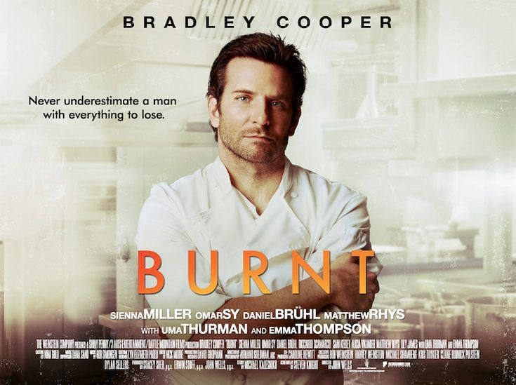 New Burnt Trailer Feat. Bradley Cooper. Check out the new trailer! Bradley Cooper plays Adam Jones, up and coming chef whose d