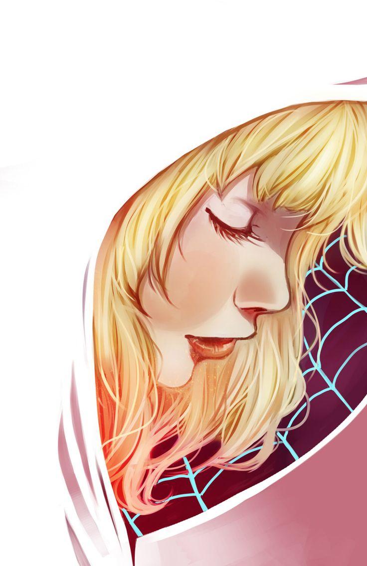"Gwen Stacy - ""Spidergwen"" Print by KikiJenkinsArt on Etsy https://www.etsy.com/listing/236396347/gwen-stacy-spidergwen-print"