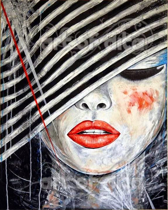 by Dita Omuri / Albanian painter and illustrator  #art #abstract #abstractexpressionism #painting