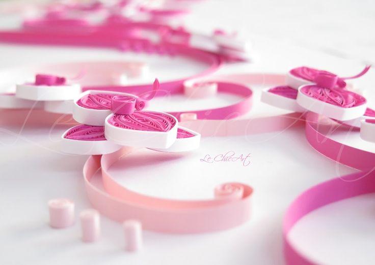 Dettagli di un tableau de mariage Lina Très Chic Orchidee fucsia e rosa