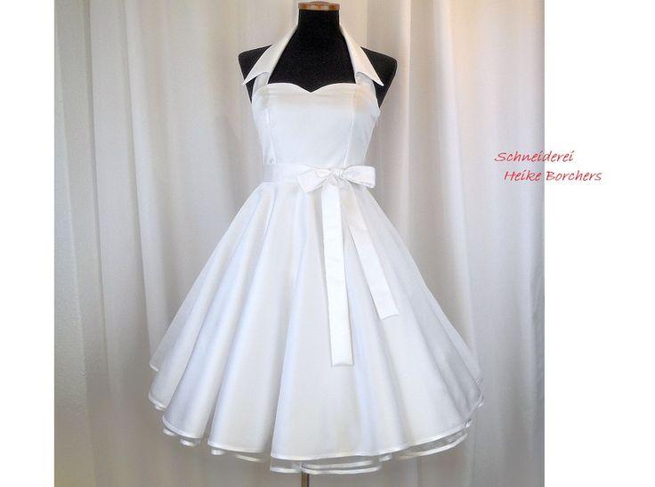 Brautkleider - Brautkleid Kragen - ein Designerstück von Schneiderei-Heike-Borchers bei DaWanda