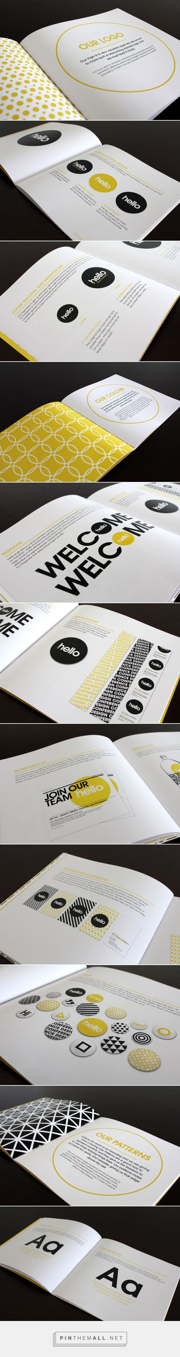 Hello Design Conference Brand Standards Manual                                                                                                                                                                                 More