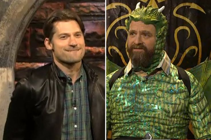 Someone forgot to tell me about the time on SNL: Jaime Lannister Tries To Help Zach Win 'Game Of Game Of Thrones'