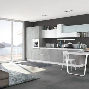 Se si sceglie una cucina soggiorno, ci sono anche notevoli vantaggi dal punto di vista pratico. Come il fatto di poter acquistare tutta la zona giorno da un unico rivenditore.