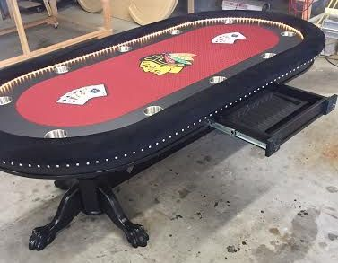 84 best sports themed poker tables images on pinterest | basements