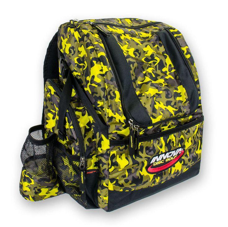 Wingz Disc Golf * Brand New Innova Hero Pack * Backpack * Yellow Bag * 25+ Discs #Innova