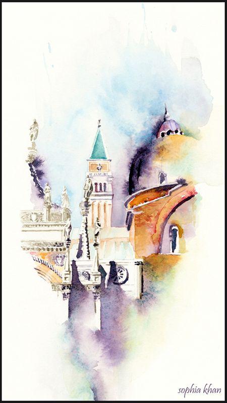 Original Watercolors — WATERCOLOR WANDERLUST sophia khan