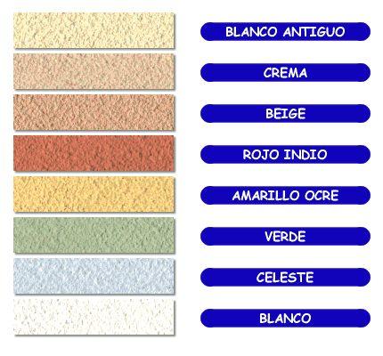 Concreto Coloreado : Stucco repello con color - Protecto - Kativo