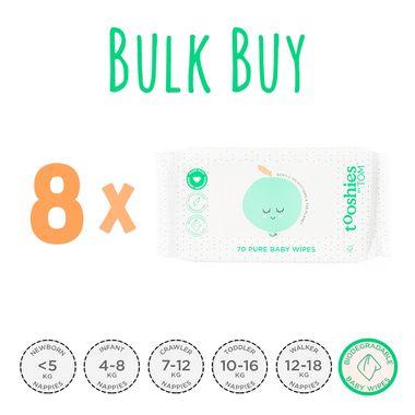 Bulk Buy Tooshies by TOM Eco Baby Wipes $48.95 http://www.hellocharlie.com.au/tooshies-by-tom-baby-wipes-bulk/