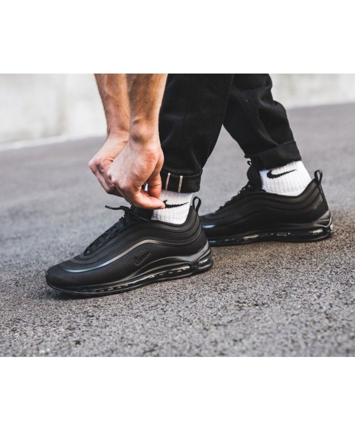 Nike Air Max 97 All Black Mens Trainers