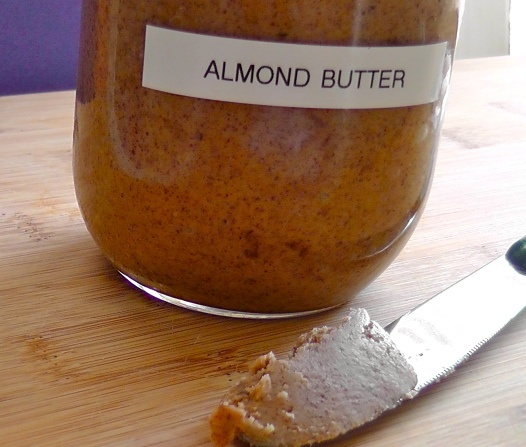 Homemade Almond Butter | Color Wheel Meals