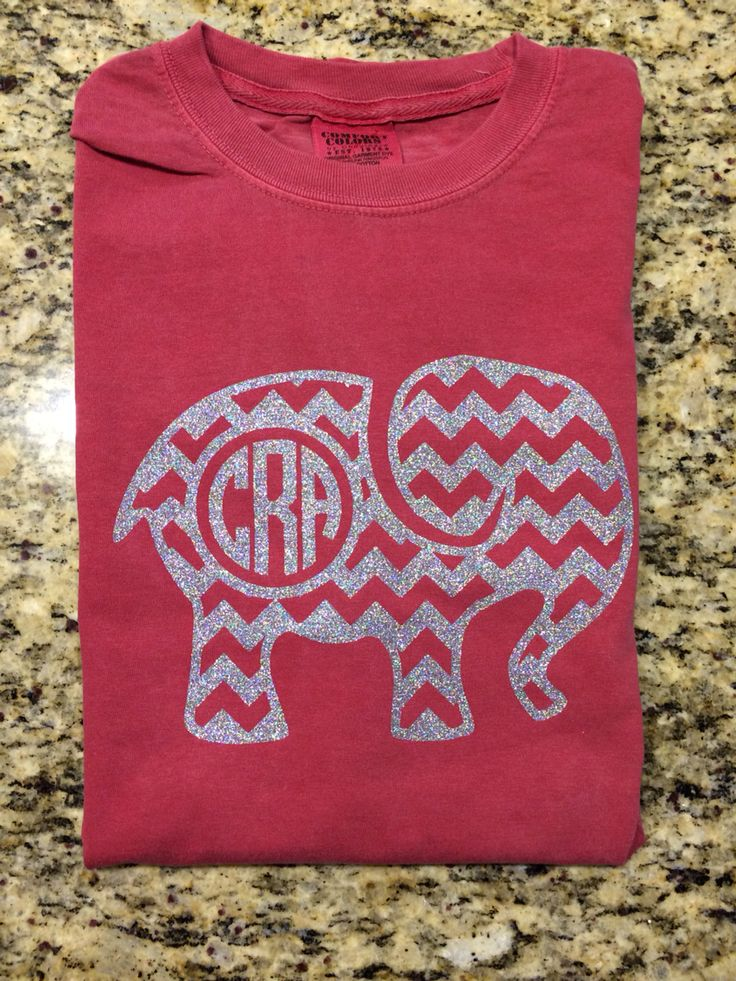 Alabama shirt I made for my niece. Silver Siser HTV. . #htv # silhouette