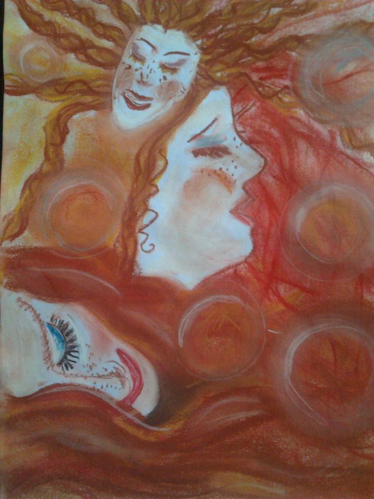 Öröm. Pasztell 30x40 Papír. Artist: Balogh Krisztina
