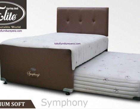 Elite Spring Bed 2 in 1 Symphony Spring Latex  ELITE Seri TEENAGER   SPRING BED      SOFT