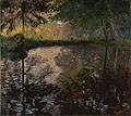 The Pond at Montgeron by Claude Monet