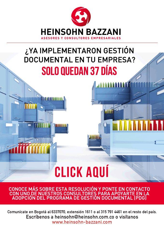 #NOVOCLICK esta con Heinsohn Bazzani ¿Ya implementaron gestión documental en tu empresa? Solo quedan 37 días
