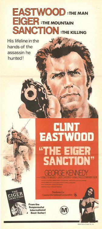The Eiger Sanction Movie Poster