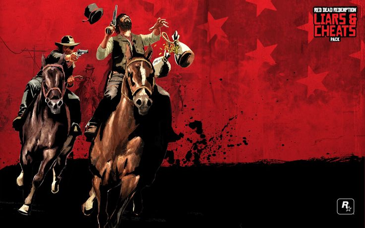Red Dead Redemption: Liars and Cheats wallpaper pack 1080p hd, 436 kB - Ripley Cook